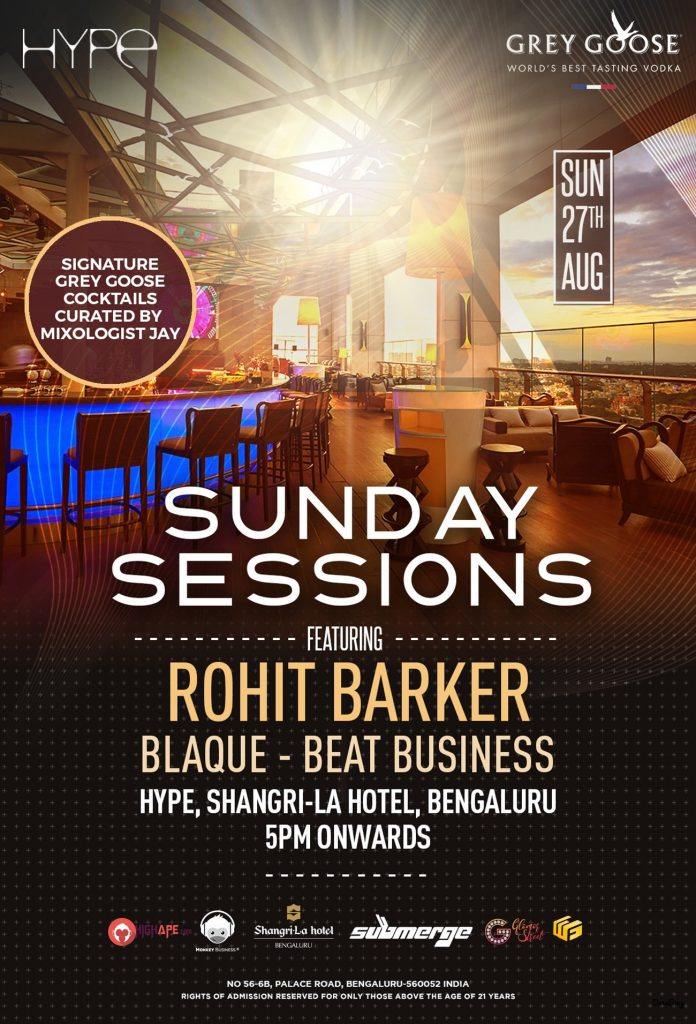 SUNDAY SESSIONS feat ROHIT BARKER
