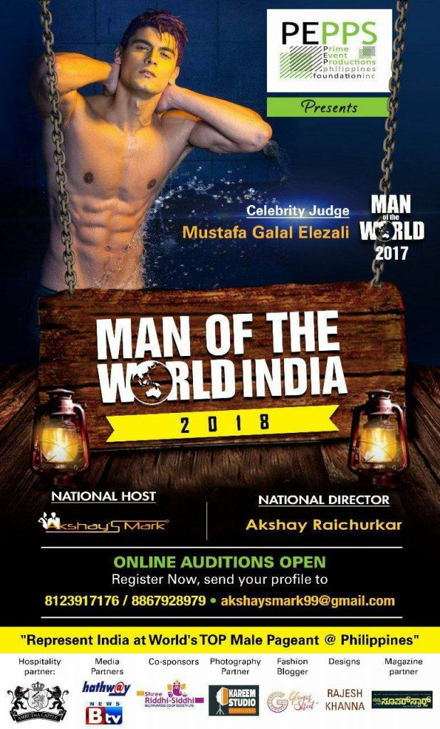 MAN OF THE WORLD – INDIA 2018