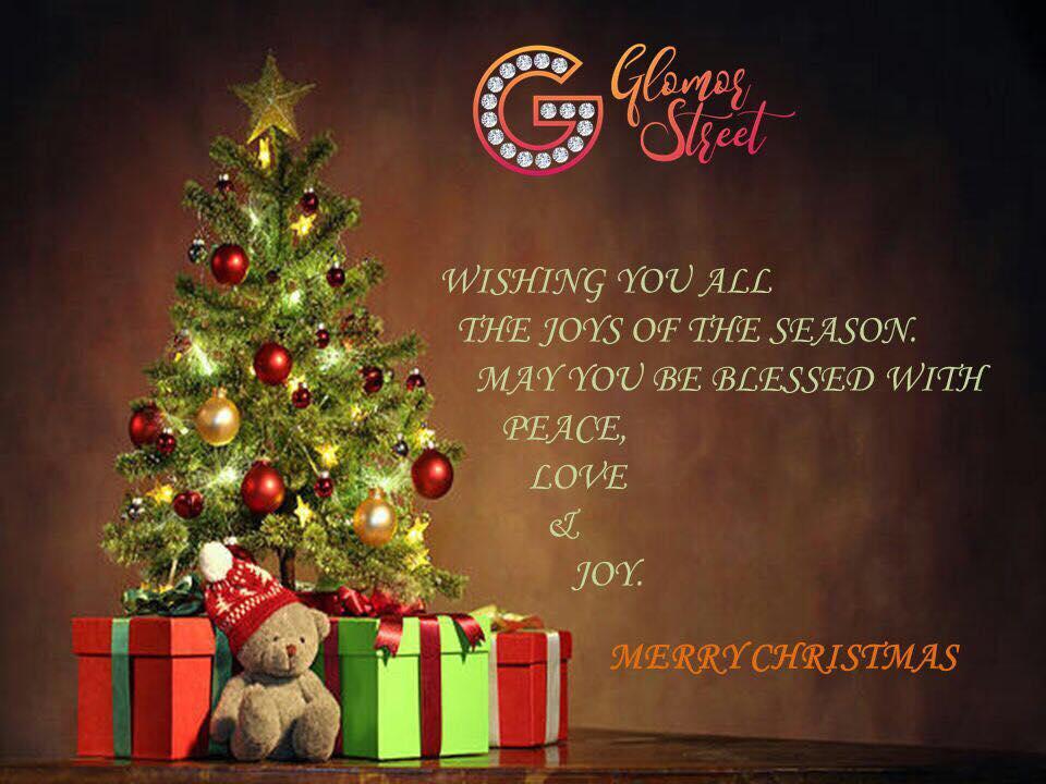 WISH YOU MERRY CHRISTMAS FROM TEAM GLAMORSTREET