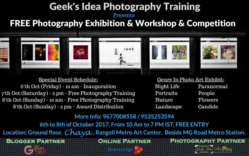Geek's Idea Photography Training