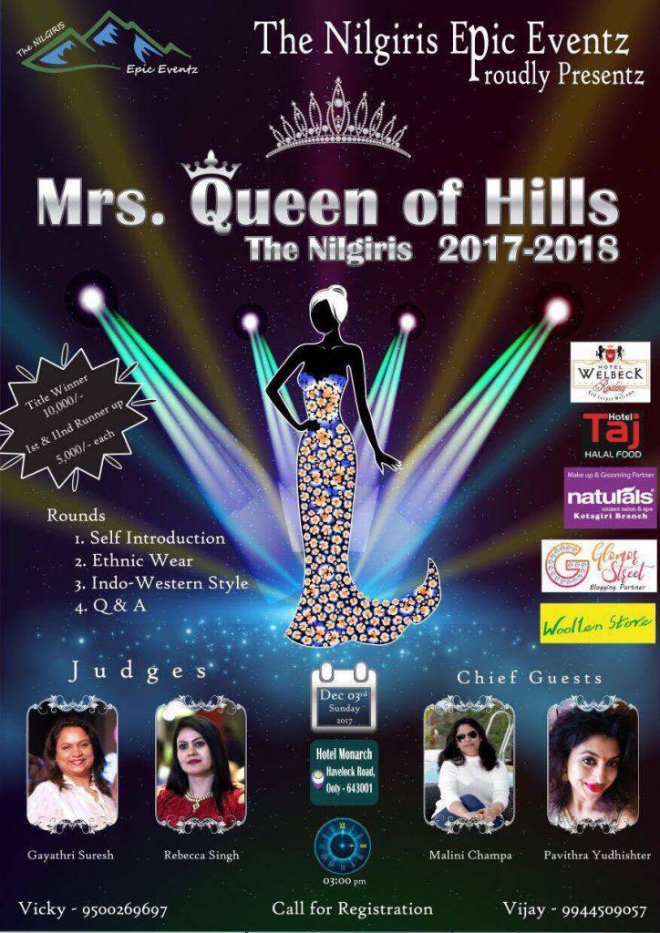 MRS. QUEEN OF HILLS 2017-2018
