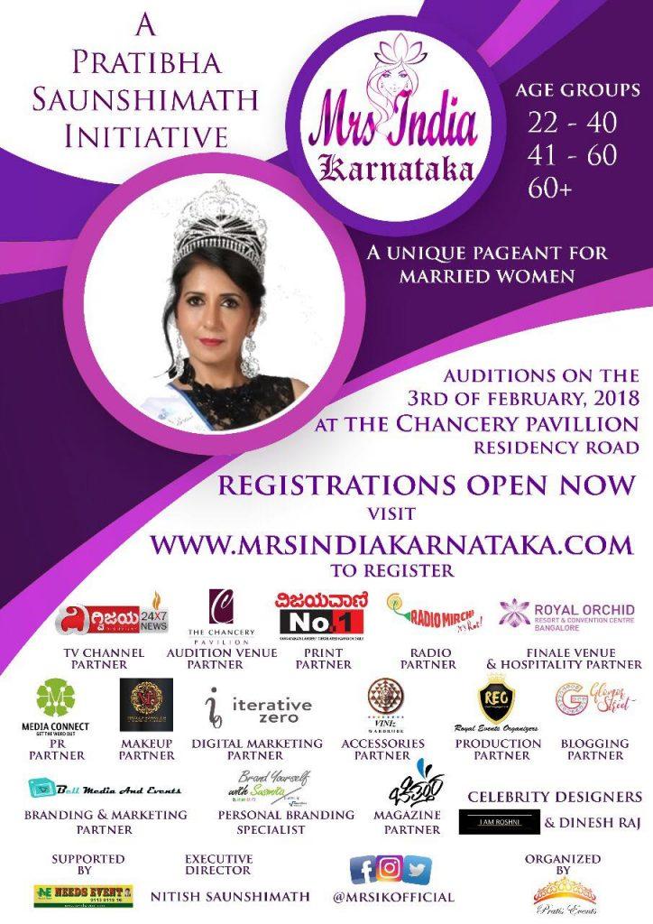 Mrs India Karnataka 2018